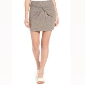 🆕 || B.P || Knot Front Skirt